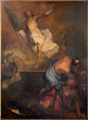 canvas print picture - Bruges - Resurrection of Christ paint in st. Jacobs church