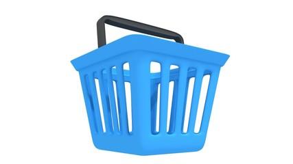 Shopping basket rotate animation