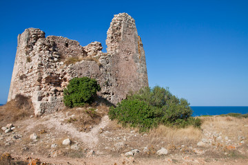 Uluzzo watchtower, Salento, Italy