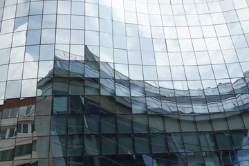 Reflex in building windows