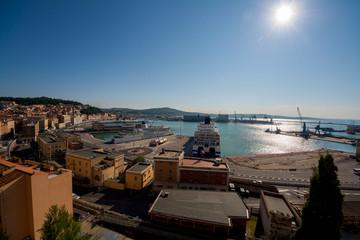 Porto di Ancona, Marche, Italia