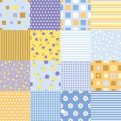 Boys seamless backgrounds