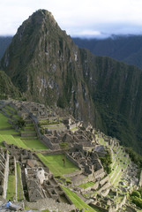 General View of Inca City of Machu Picchu, Peru