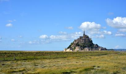 Mont St. Michel distant view
