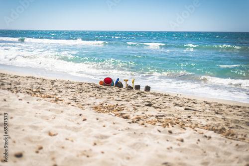 canvas print picture Sardegna, ultimi giorni di mare