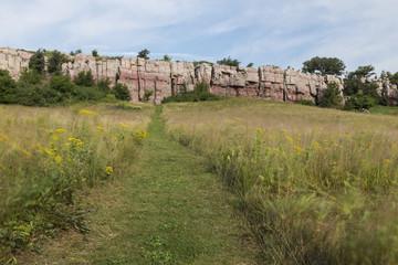 Trail To Cliffs (Windblown)