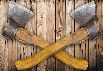 Wooden axes