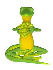 Gecko meditation