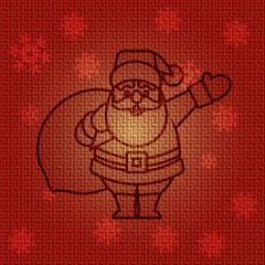 Vector Christmas Santa Claus