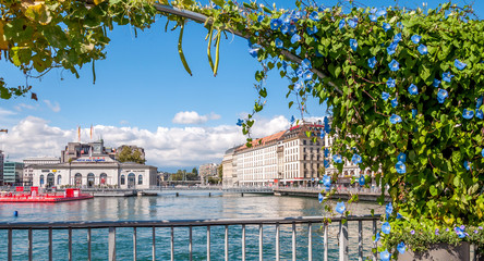 Passerelle du centre de Genève