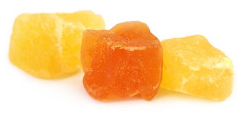 Dried apricot and papaya