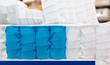 Mattress spring seal with colorful fabric - 69819513