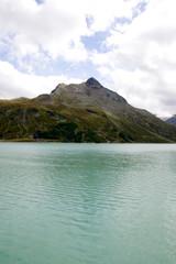 Silvretta-Stausee - Alpen