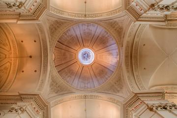 Brussels - cupola of church Eglise de St. Jean et St Etienne