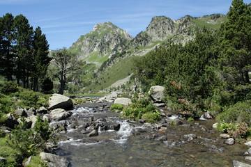 Roc blanc et lac du laurenti,Pyrénées