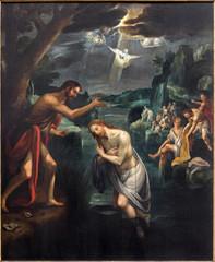 Mechelen - The Central panel of the Baptistm of Christ