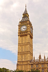 Big Ben in Westminster, London.