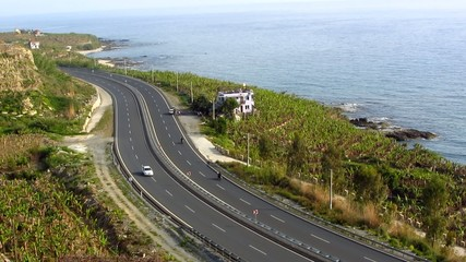 Highway and sea