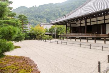 Japanese Zen Garden, Tenryuji Temple