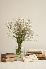 Vecchi libri e fiori