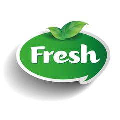 Fresh label tag