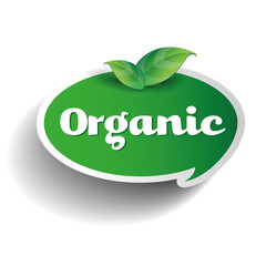 Organic label tag