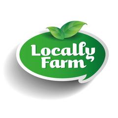 Locally farm label tag