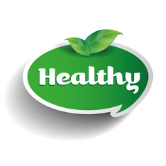 Healthy label tag