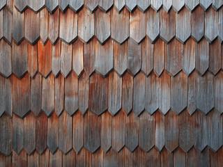 Historische Holzschindeln