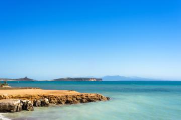 Sardegna, oasi marina del Sinis, vicino a Oristano