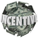 Incentive Word Money Ball Encouragement Buy Sell More poster