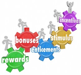 Incentives Rewards Bonuses Customers Workers Climbing Heigher