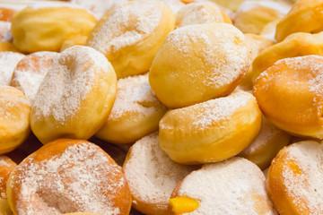 Krafen with cream