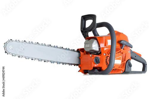 Leinwanddruck Bild Chain saw