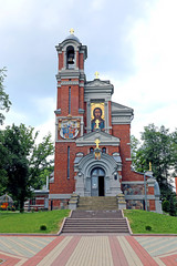 Church-tomb princes Svyatopolk-Mirsky in Belarus
