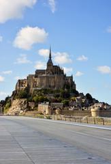 Mont Saint Michel in Summer