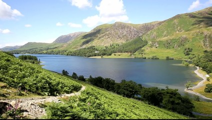 Summer Buttermere Lake District mountains