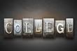 College Letterpress