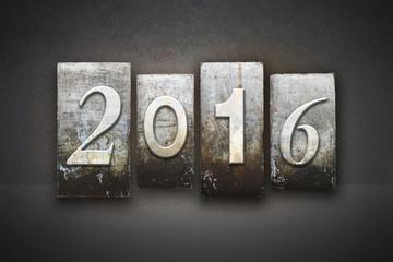 2016 Letterpress