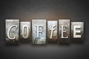 Coffee Letterpress