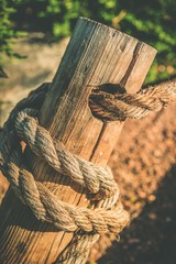 Rope and Wood