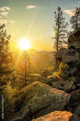 Sunny Mountain Trail