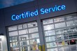 Leinwanddruck Bild - Certified Car Service