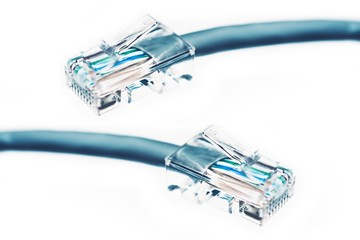 Ethernet Cable Isolated