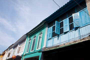 Old window in Phuket