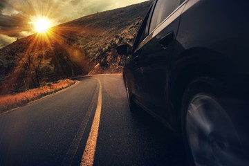 Summer Highway Drive