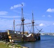 Replica of Mayflower, Plymouth MA, USA