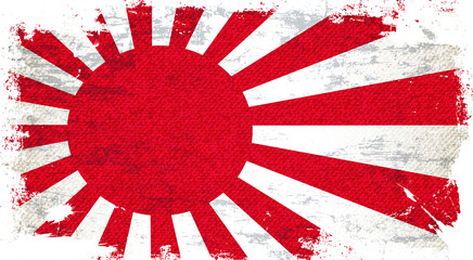 Japan Flag Art Background
