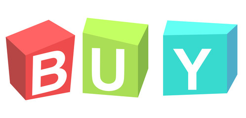 Buy Cubes banner