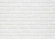 Leinwandbild Motiv white brick wall background